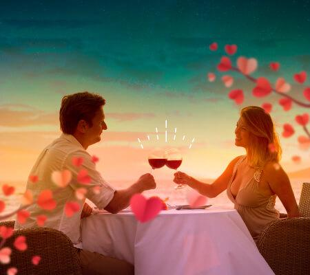 PLAN CENA ROMANTICA GHL GHL Relax Hotel Sunrise San Andres