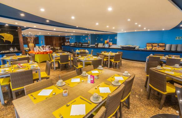 Paradise Restaurant GHL GHL Relax Hotel Sunrise San Andres